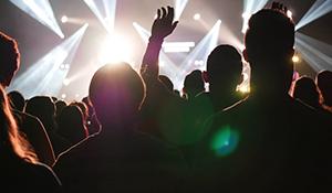 Concert crowd image