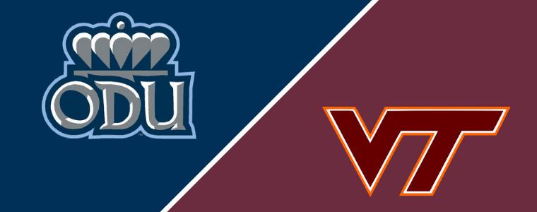 ODU vs VT logos