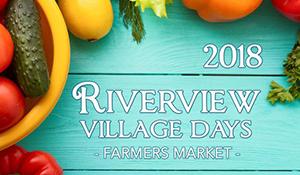 Riverview Village Days farmers market image