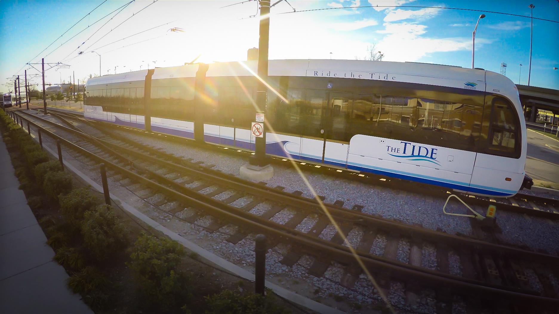 The Tide light rail image