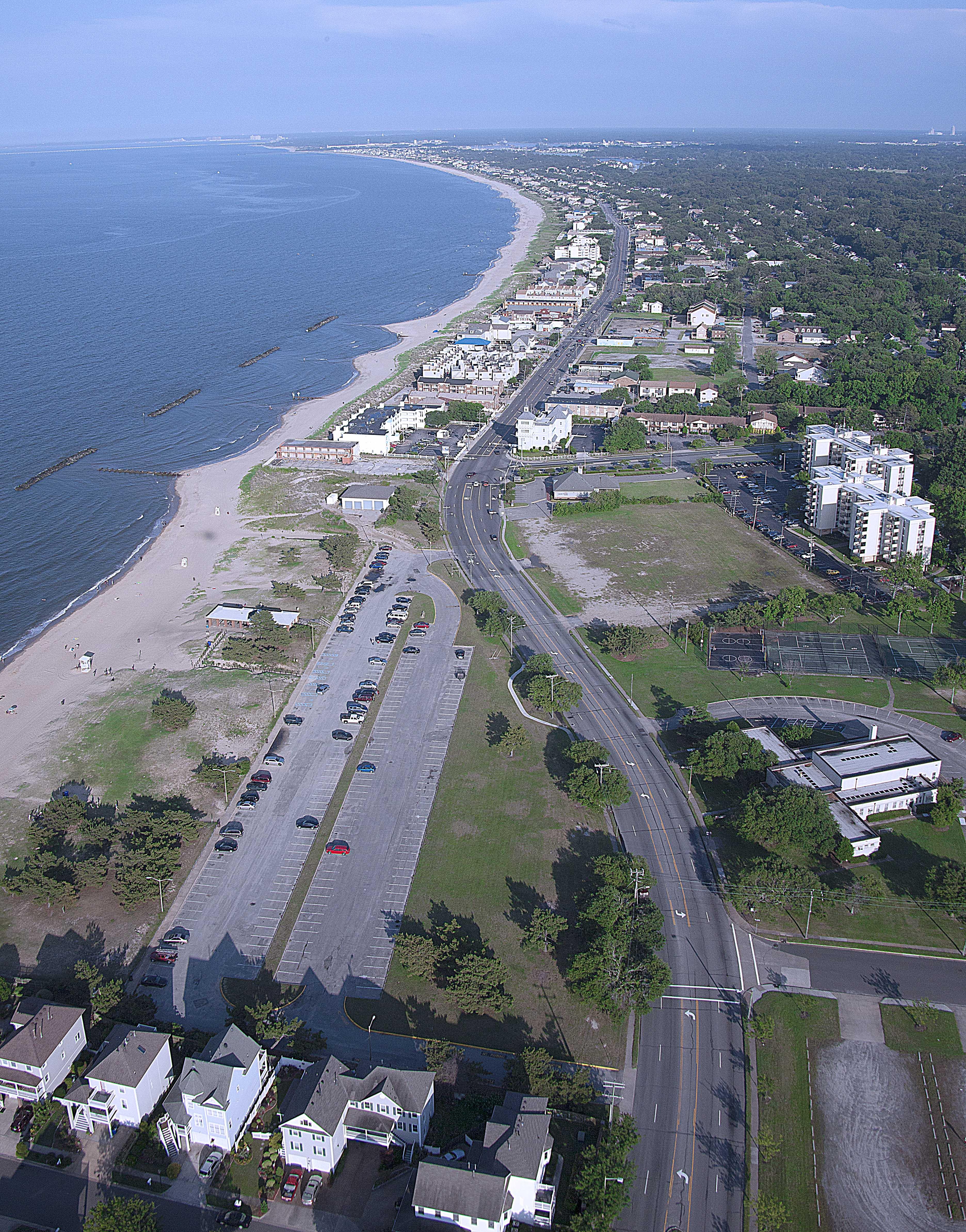 Aerial photo of Ocean View Norfolk