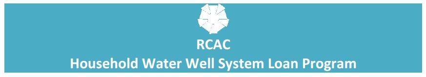 Household Water Well System Loan Program